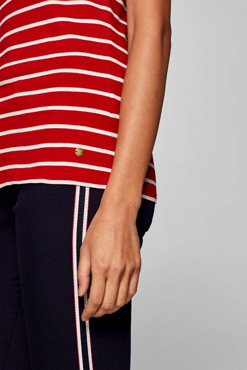 T-Shirts, DARK RED 3, detail image number 2