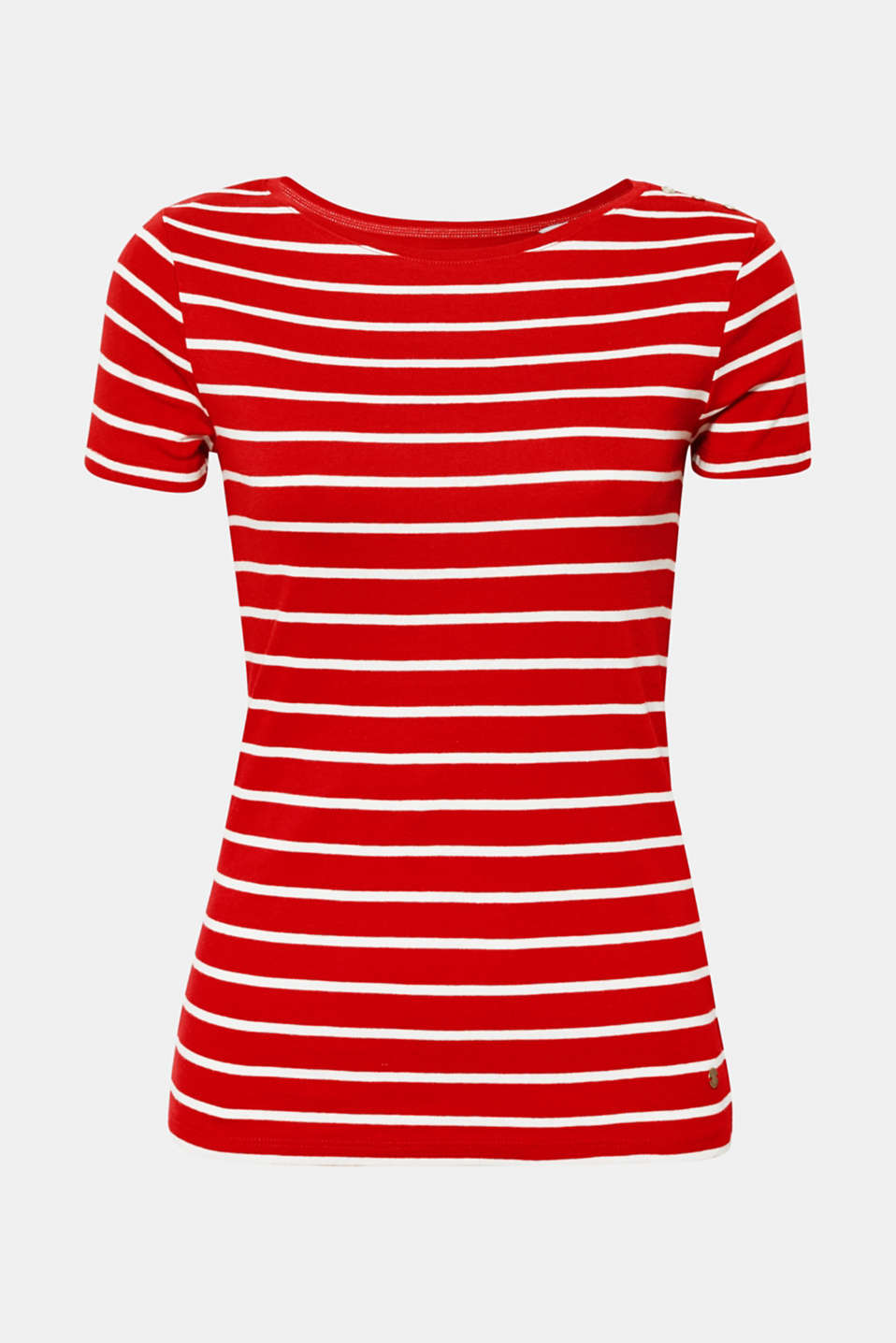 T-Shirts, DARK RED 3, detail image number 6
