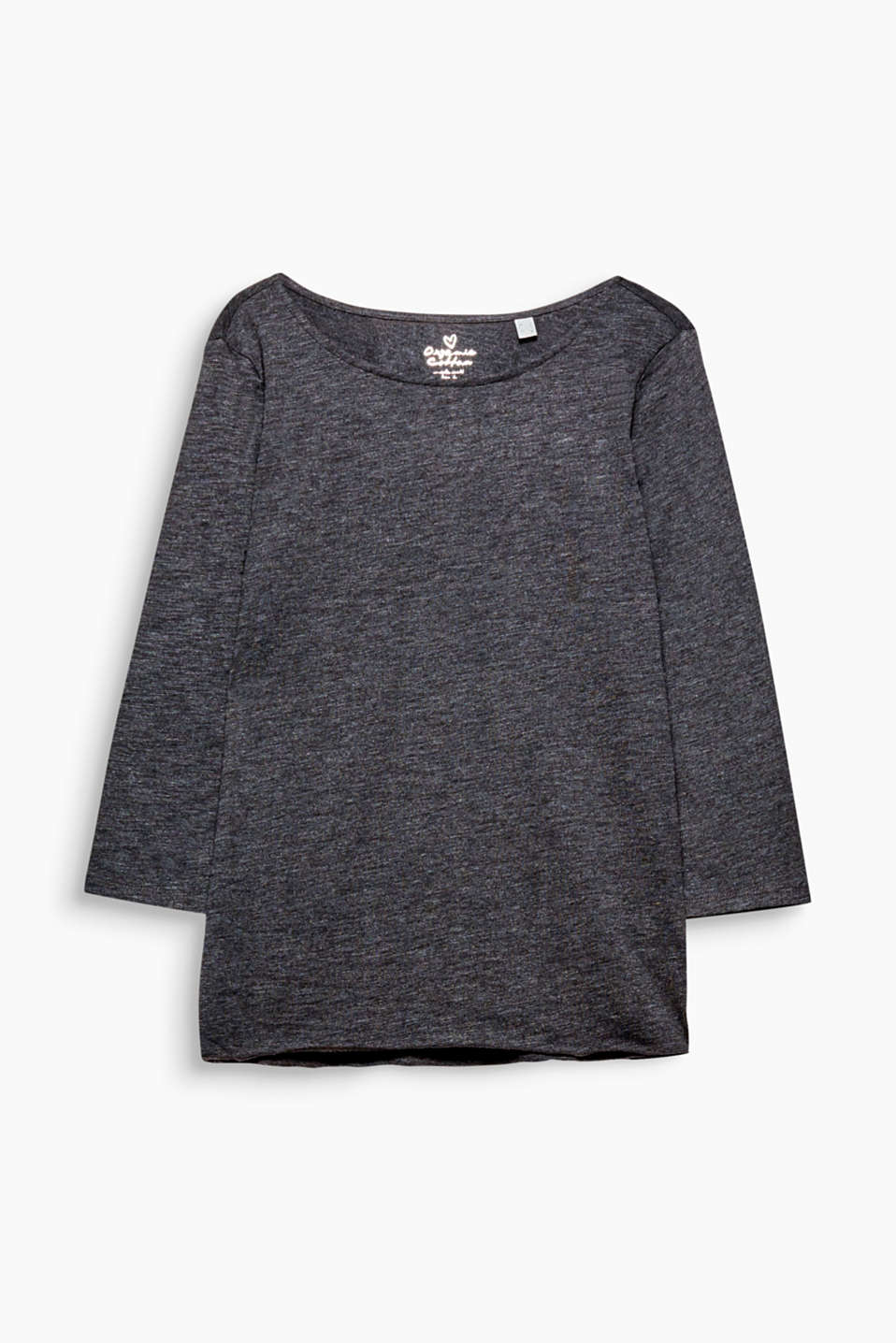 This casual top made of environmentally friendly, premium organic cotton is an indispensable basic!