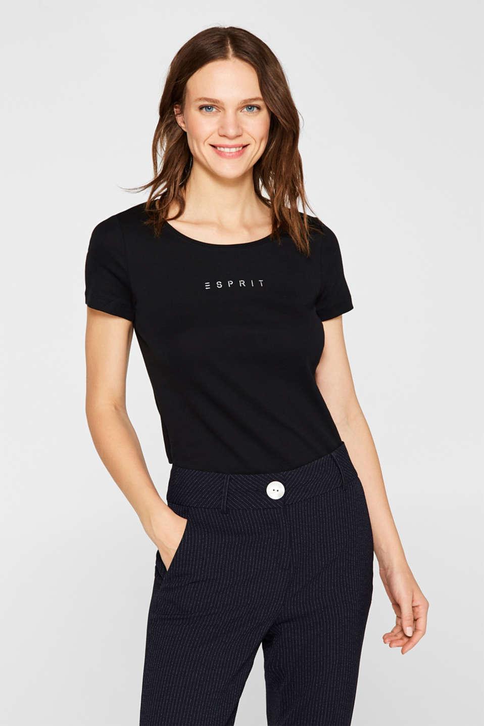T-Shirts, BLACK, detail image number 5
