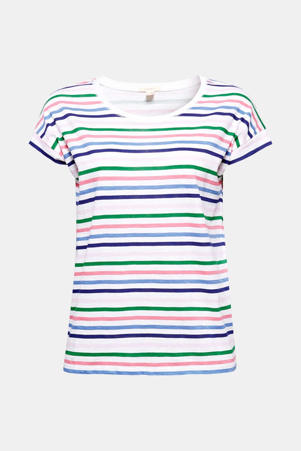 This slub T-shirt with a colourful all-over print is the perfect essential for your casual look!