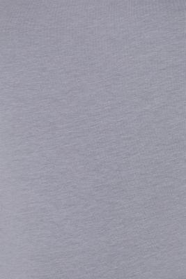 Basic long sleeve top with stretch, GUNMETAL 4, detail