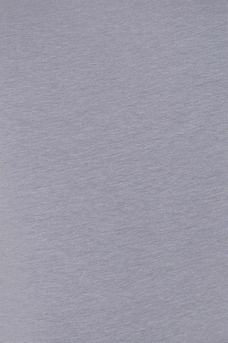 T-Shirts, GUNMETAL 4, detail image number 4