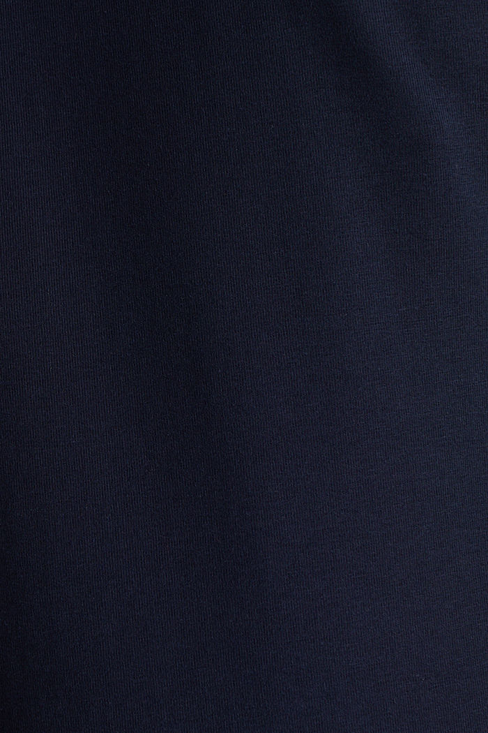 Basic long sleeve top with stretch, NAVY, detail image number 4