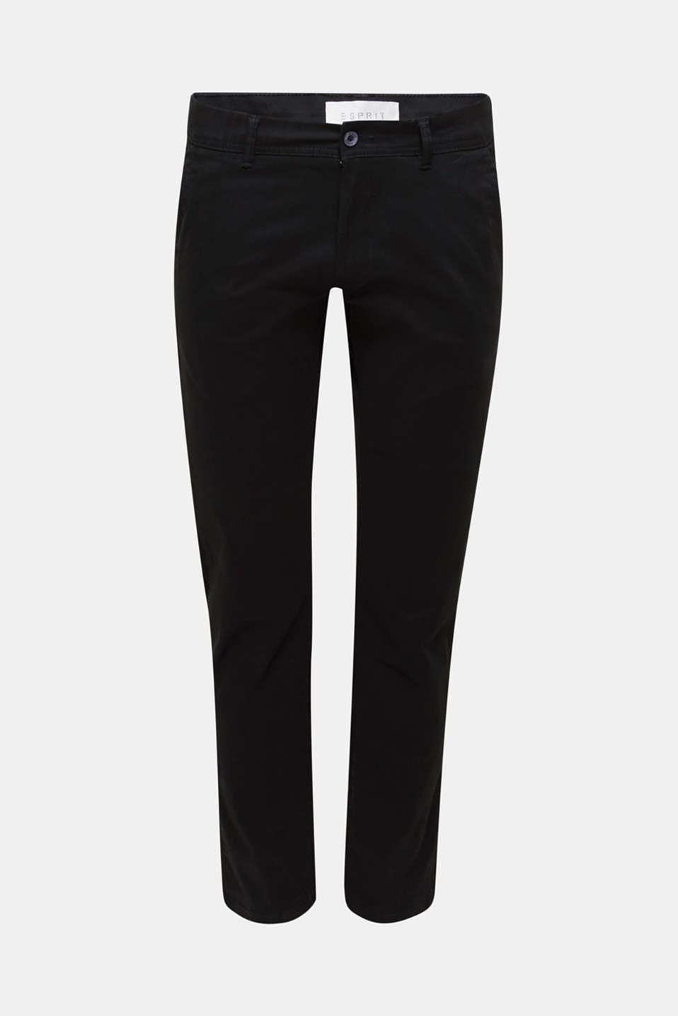Pants woven Slim fit, BLACK, detail image number 6