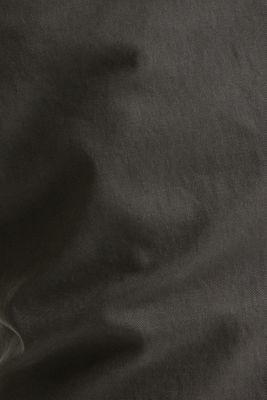 Stretch chinos in stretch cotton, DARK GREY, detail
