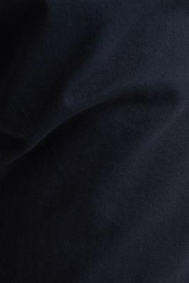 Stretch chinos in stretch cotton, NAVY, detail