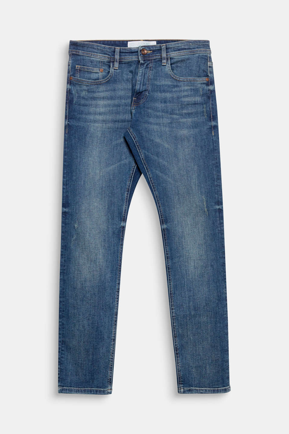 We love denim! These jeans with gently processed, high-quality organic cotton are very eye-catching thanks to the distinctive vintage look.