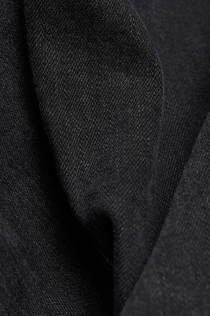 Stretch-Jeans im Washed Out-Look, BLACK DARK WASHED, detail image number 4