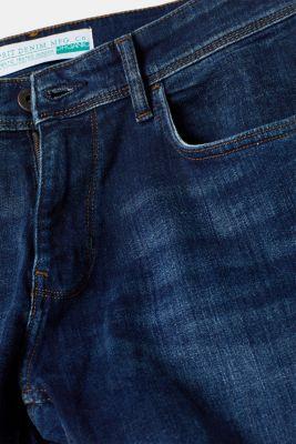 Stretch jeans containing organic cotton, BLUE MEDIUM WASH, detail