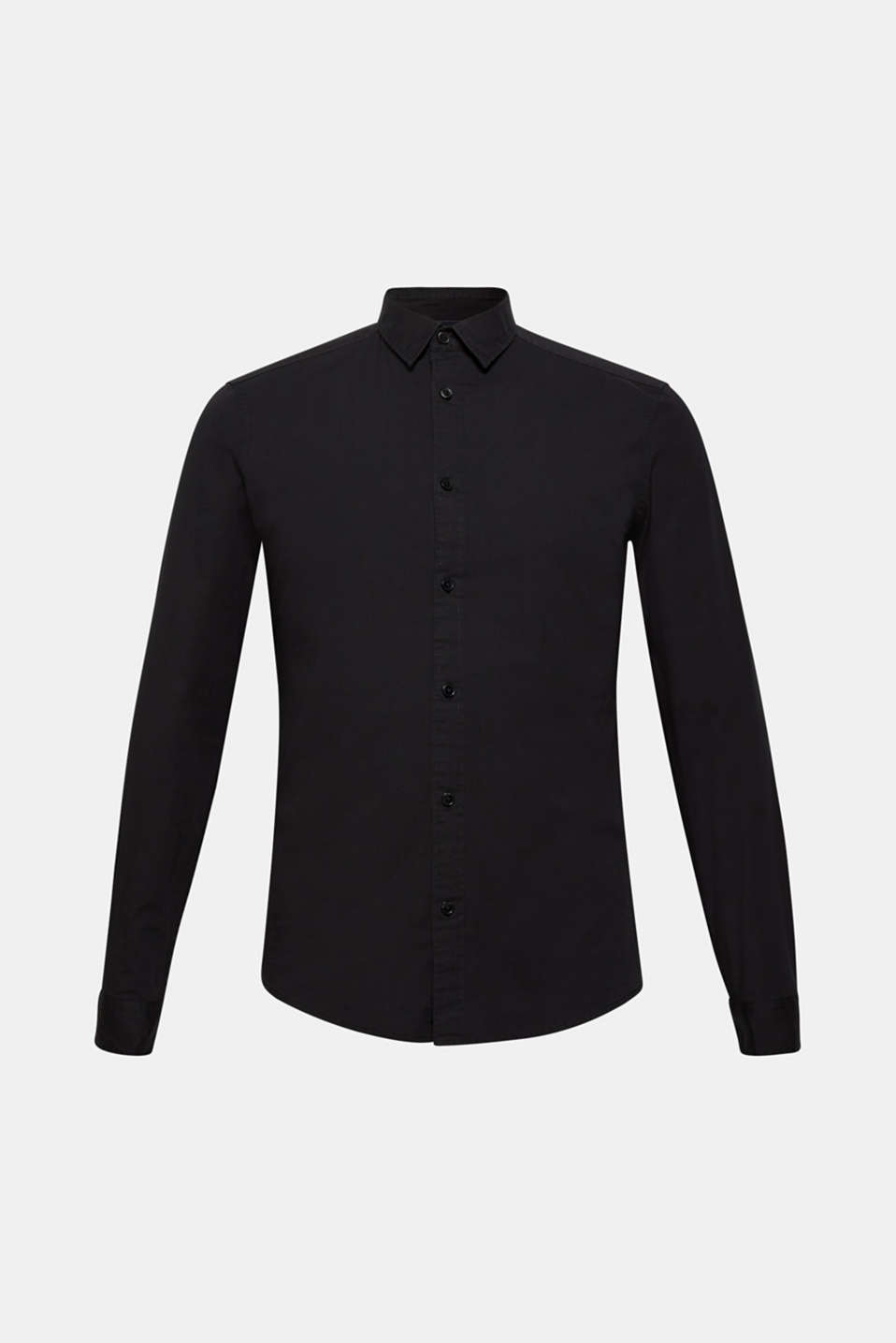 Shirts woven Slim fit, BLACK 2, detail image number 7