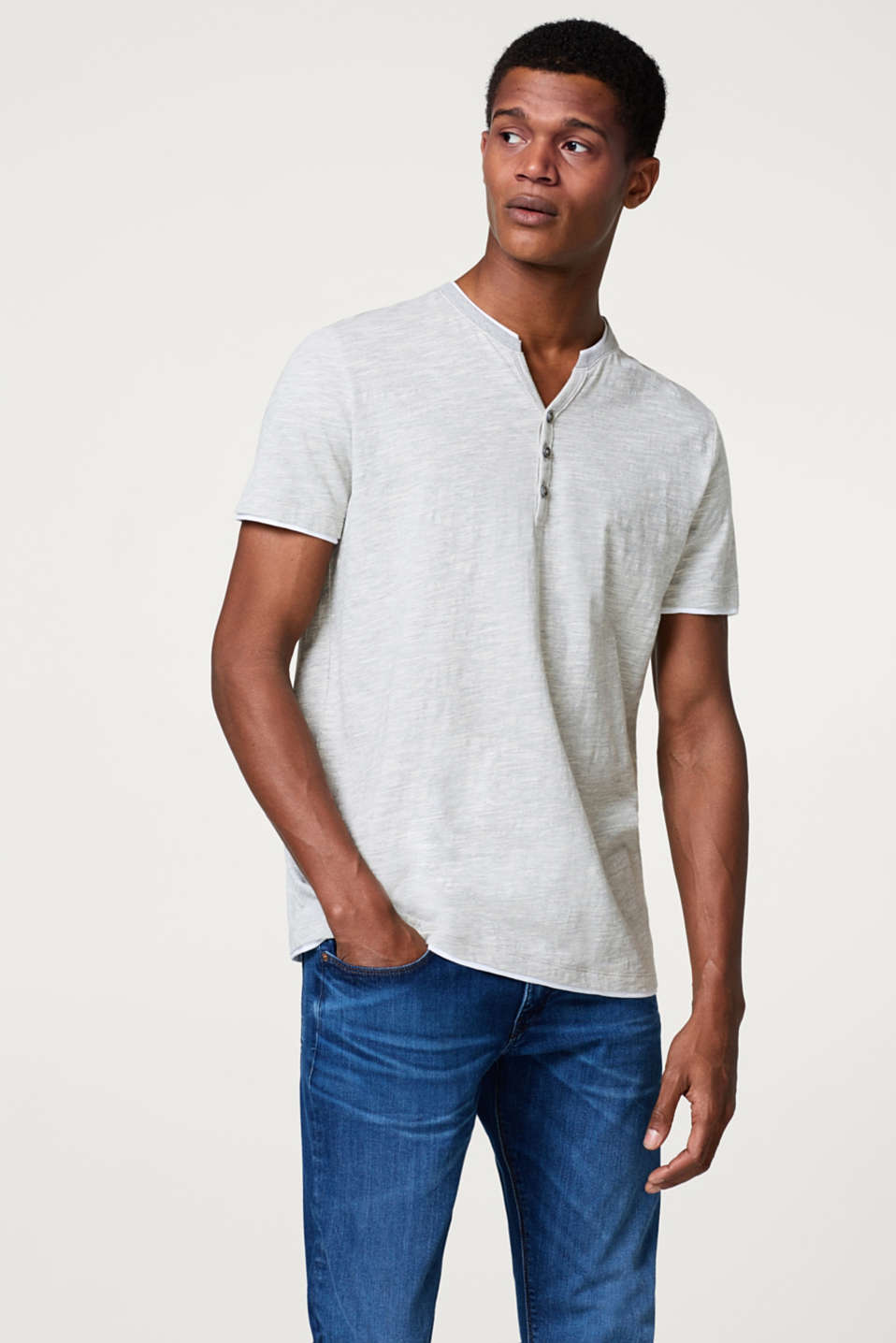 Esprit - Layer-Shirt aus Jersey, mit Organic Cotton