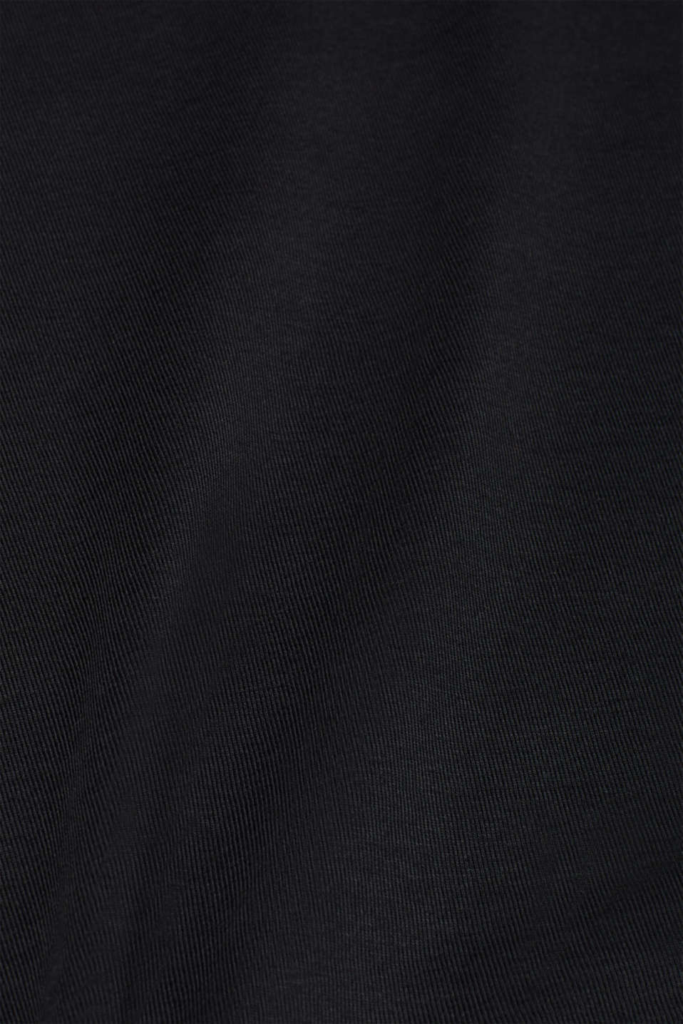 T-Shirts, BLACK, detail image number 5