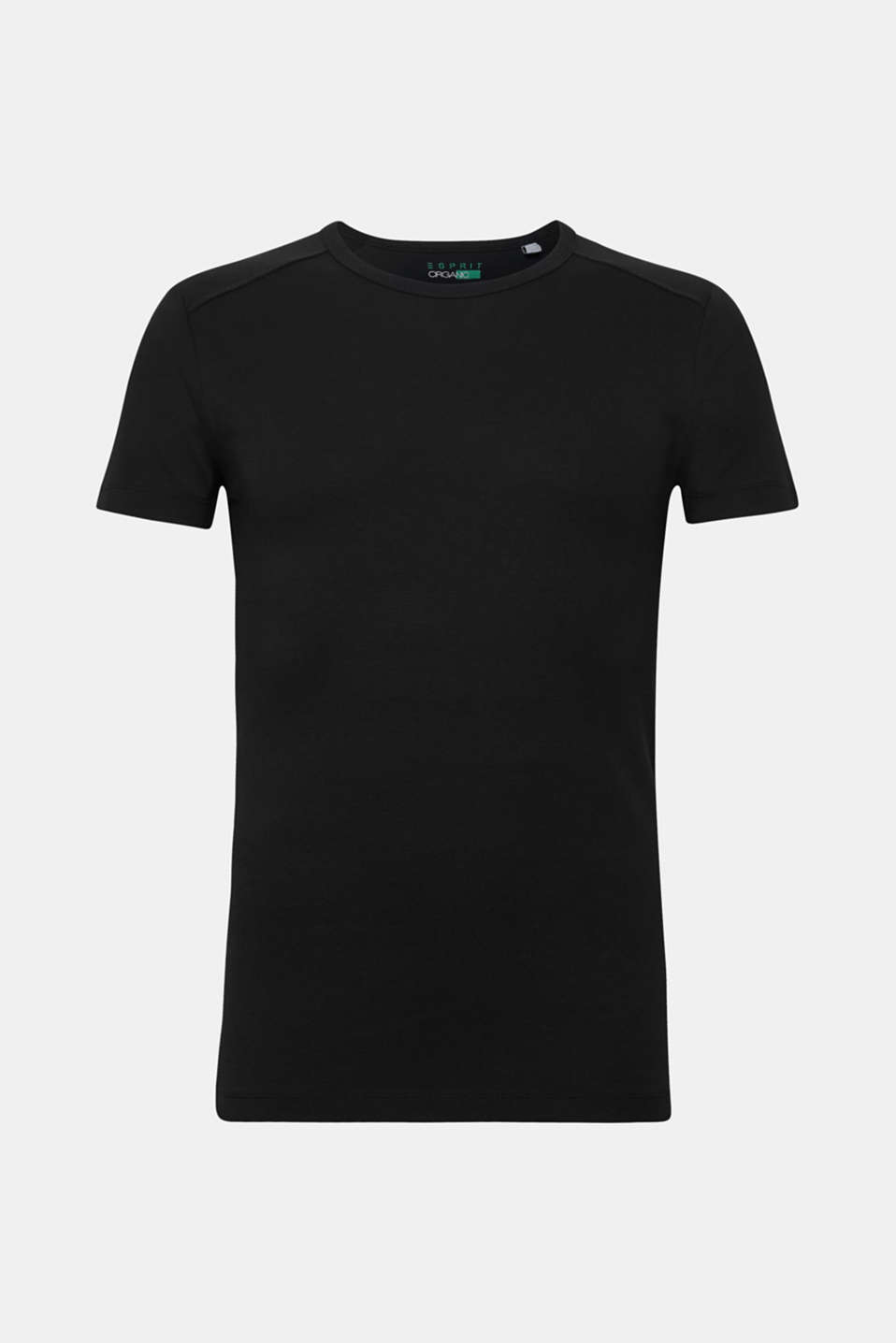 A brilliant basic begging for wardrobe space: 100% cotton T-shirt.