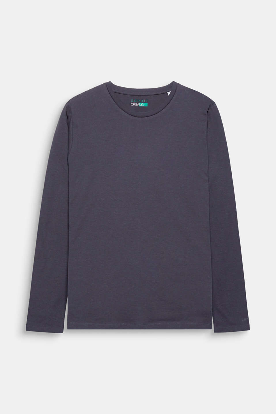 A fashion basic and must-have for every wardrobe: Long sleeve T-shirt with a round neckline and gently processed, high-quality organic cotton.
