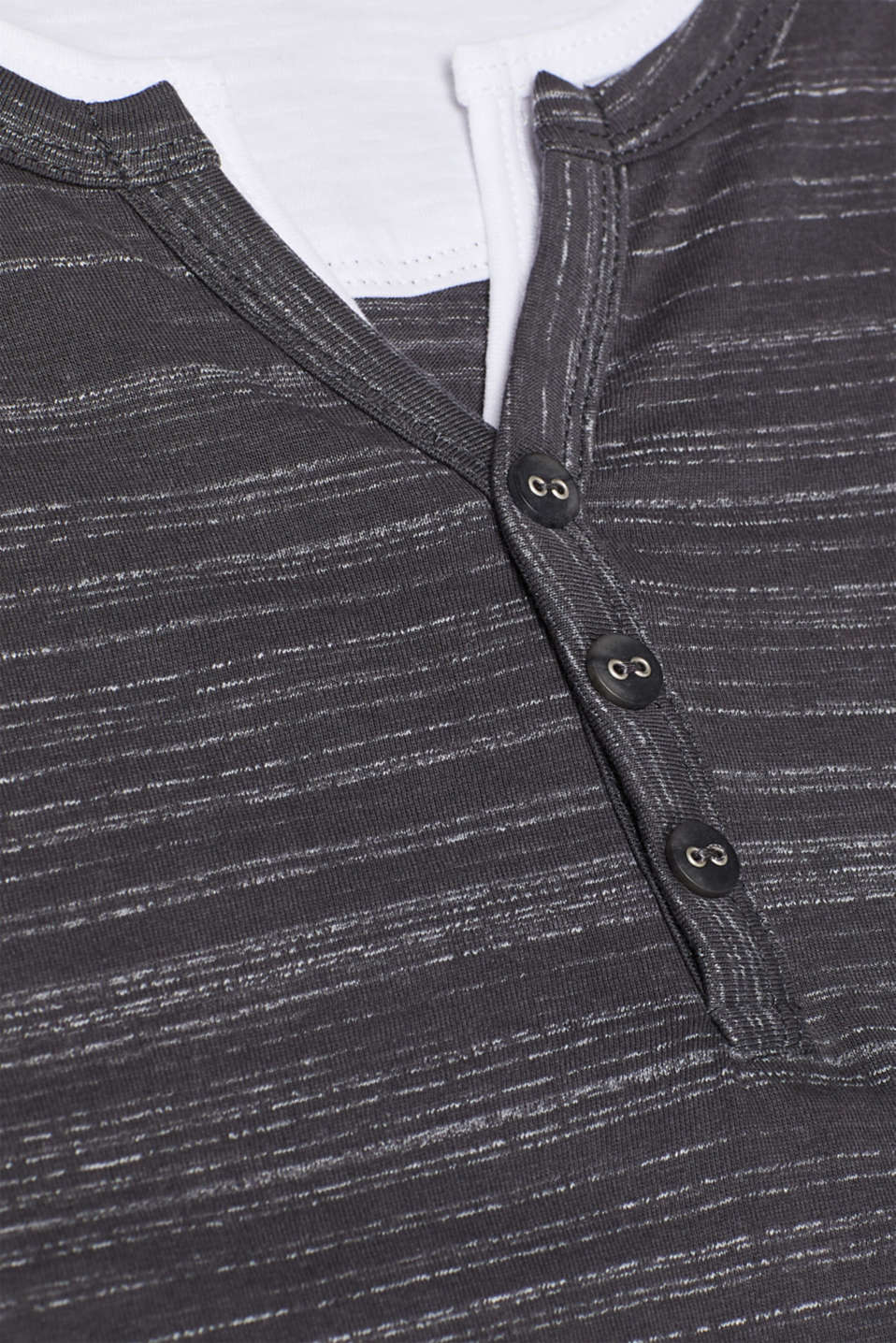 T-Shirts Slim fit, BLACK, detail image number 4