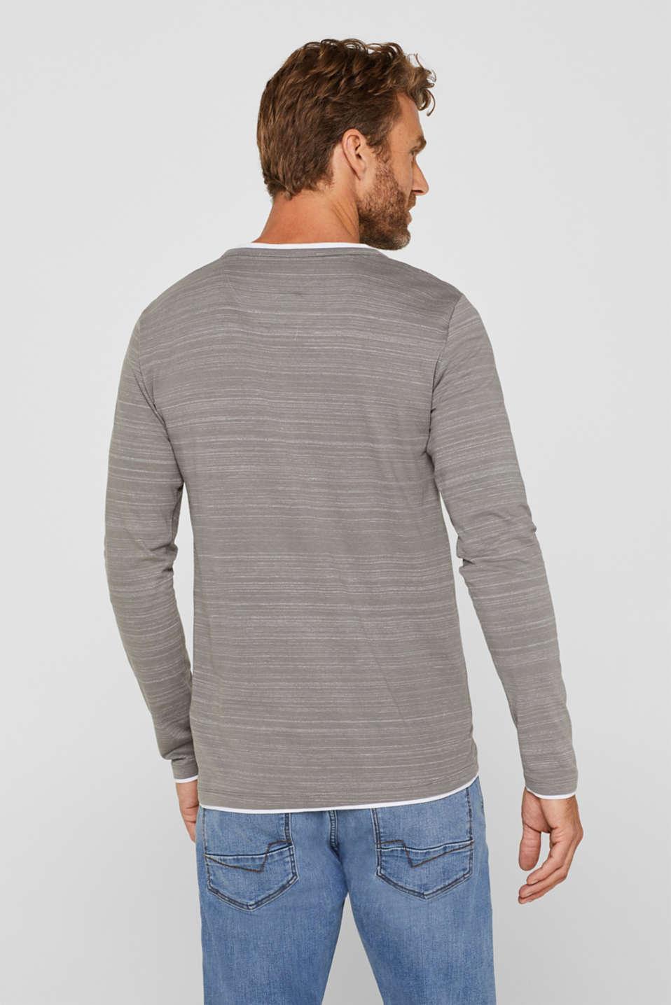 T-Shirts Slim fit, GREY, detail image number 3