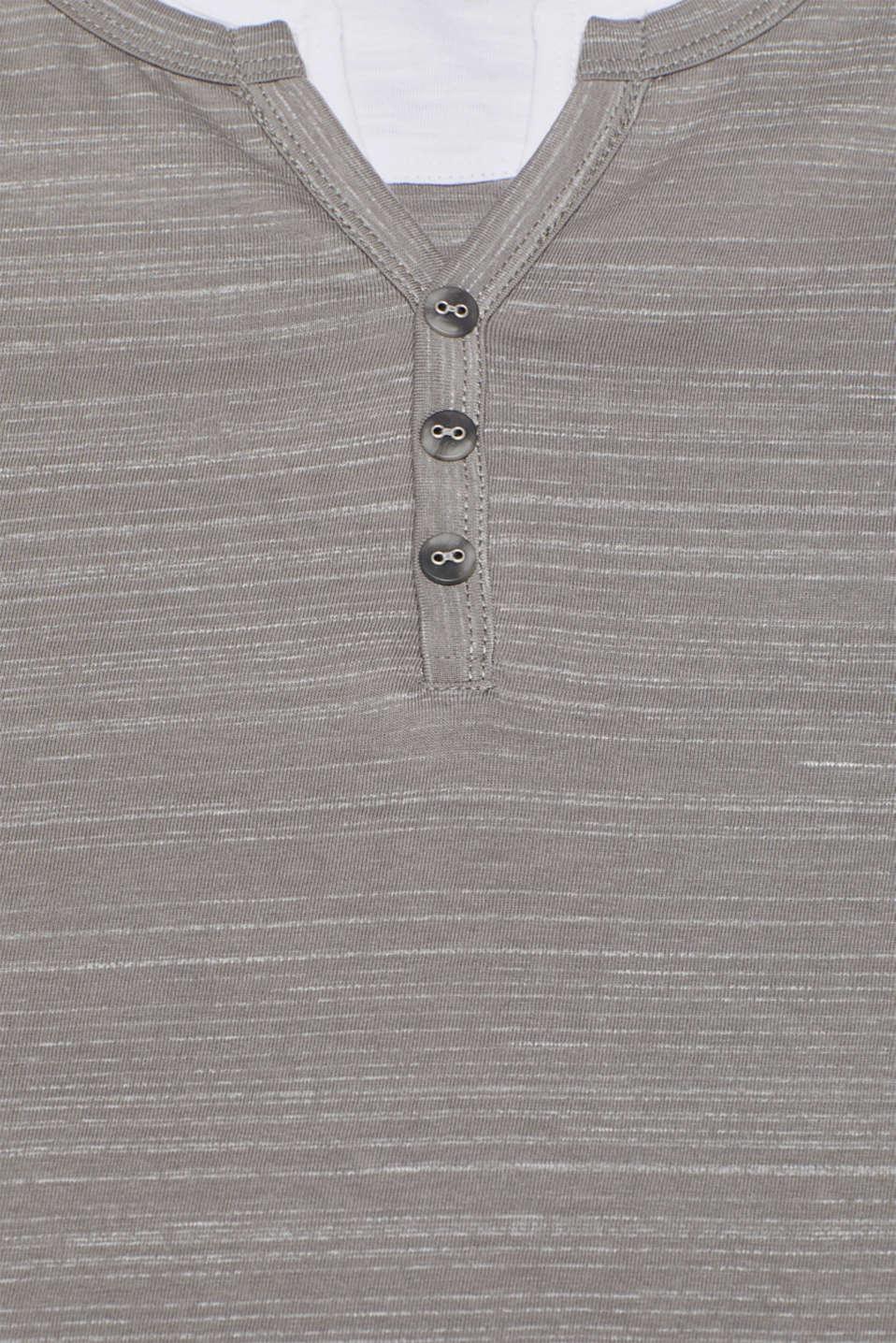 T-Shirts Slim fit, GREY, detail image number 4