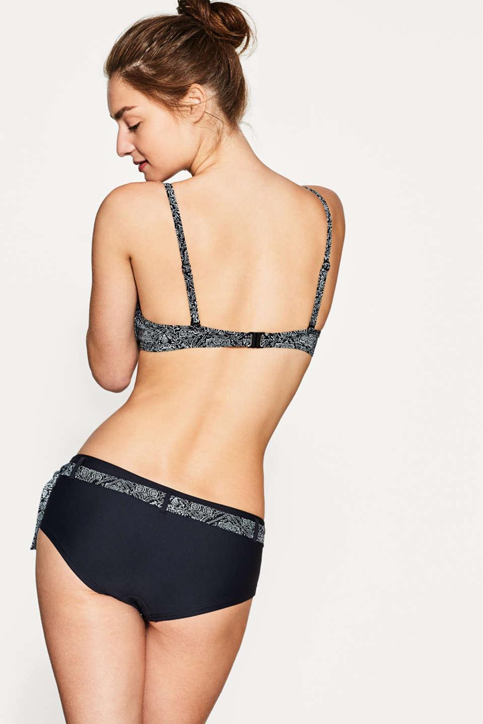 esprit bikini push up mit ornament print im online shop kaufen. Black Bedroom Furniture Sets. Home Design Ideas