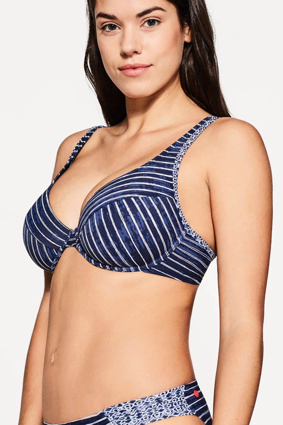 Esprit - Unpadded underwire top for large cups