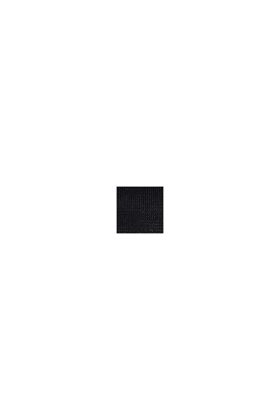 Bolsa de lavado con cremallera, BLACK, swatch