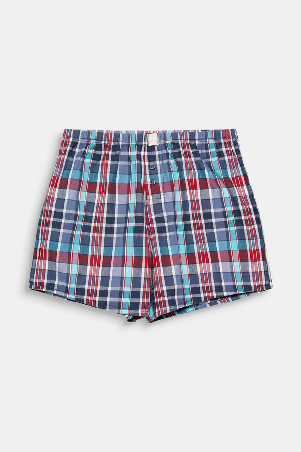 The striking, colourful checks give these boxer shorts made of pure cotton their modern look!