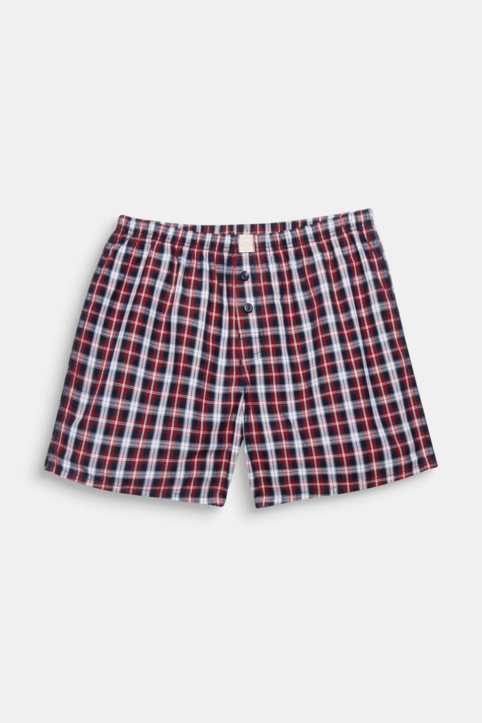 A classic check pattern is always on trend! And the cotton fabric of these boxer shorts also makes them incredibly comfortable!