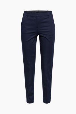 SOFT SATIN mix + match trousers, NAVY, detail