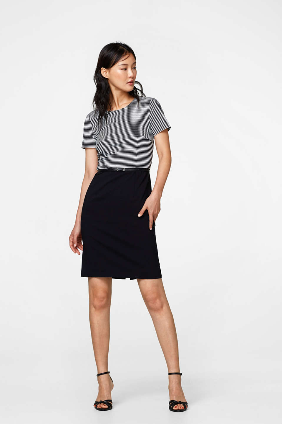 Esprit - SUPER STRETCH Mix + Match Kleid