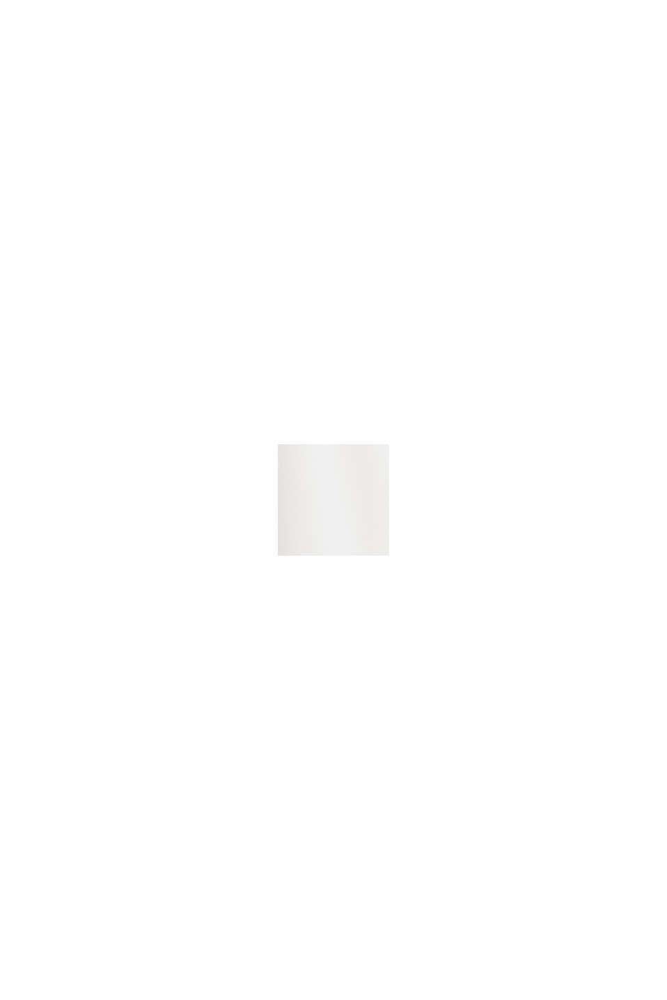 Blusa camisera de crepé fino, OFF WHITE, swatch