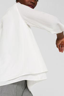 Esprit Crêpe Bluse mit Layer Effekt im Online Shop kaufen