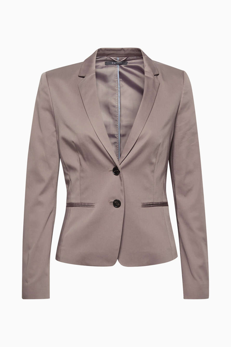 Esprit - SOFT SATIN Mix + match blazer