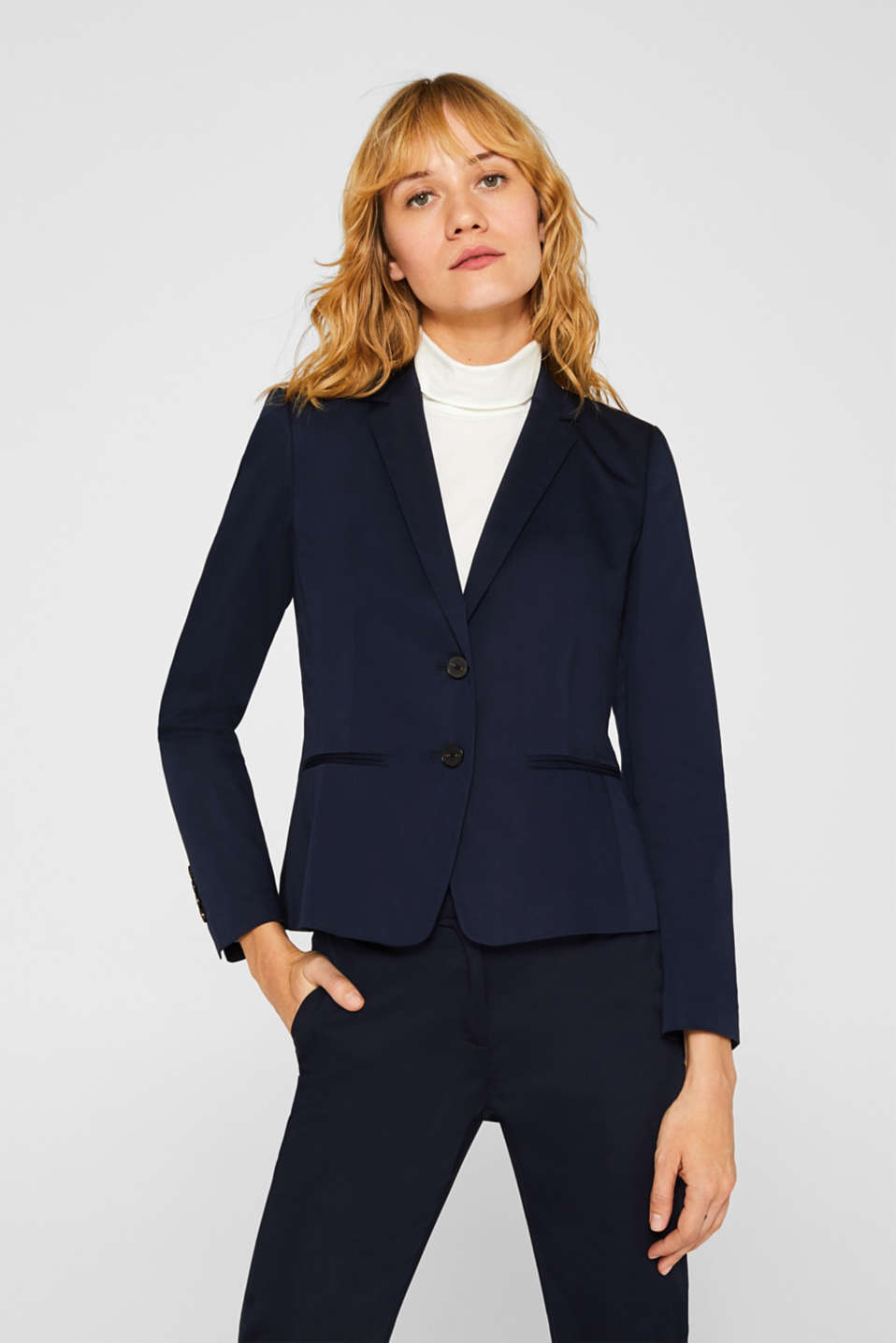 Esprit - SOFT SATIN Mix+Match blazer