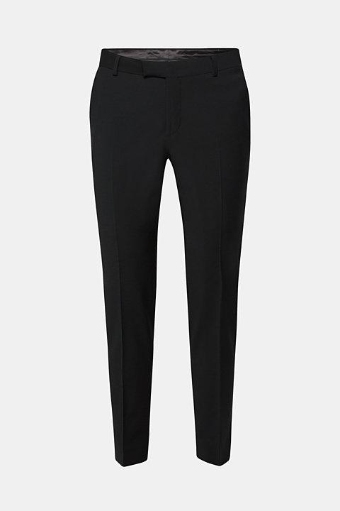 ACTIVE SUIT suit trousers, wool blend