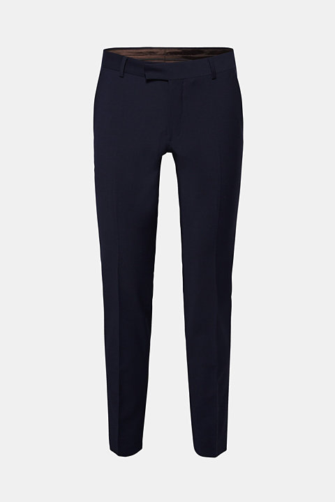 ACTIVE SUIT suit trousers, wool blend