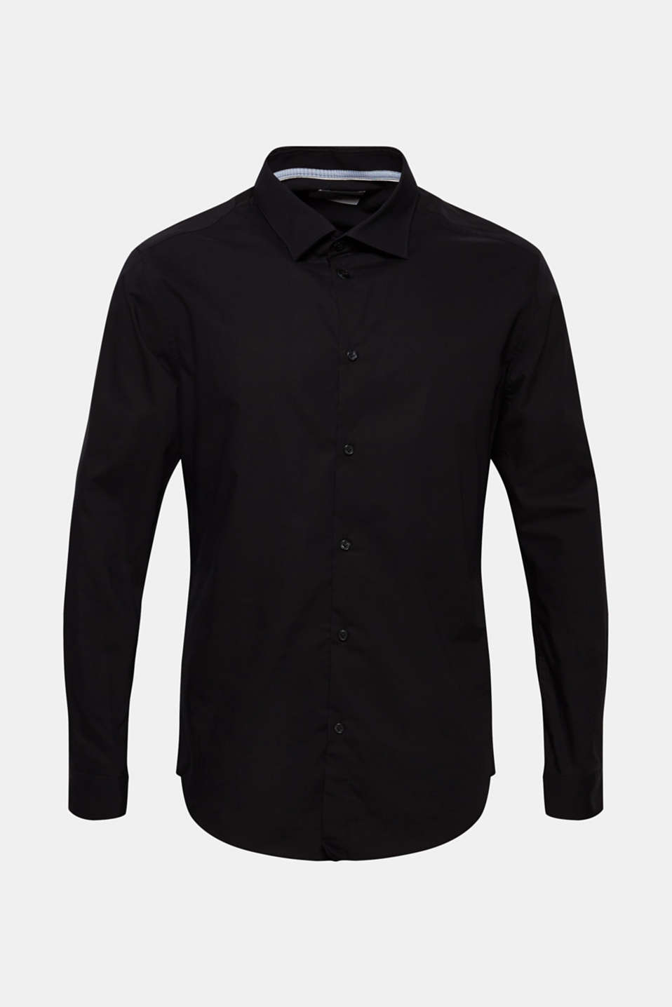 Shirts woven Slim fit, BLACK, detail image number 8