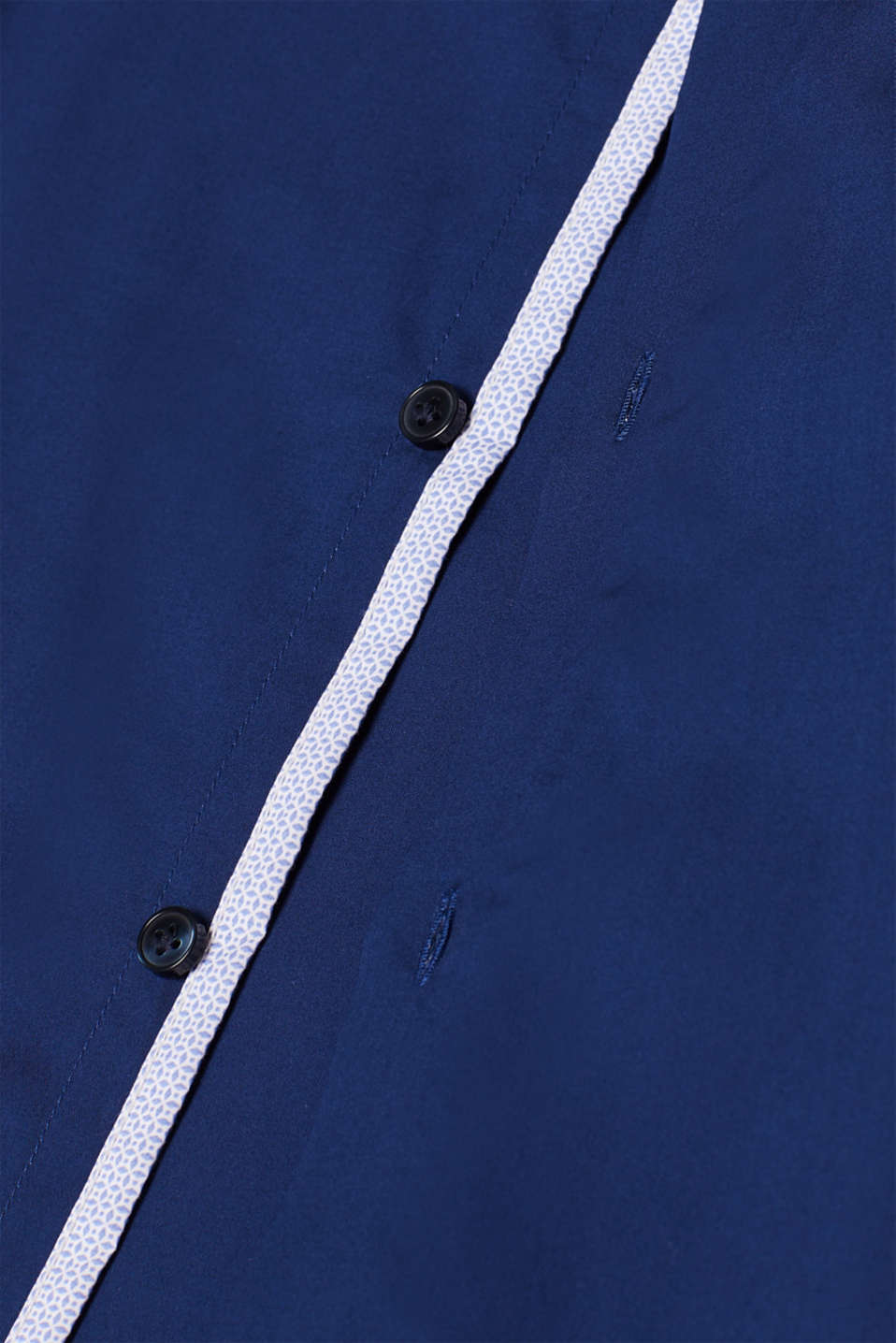Poplin shirt in 100% cotton, NAVY, detail image number 4