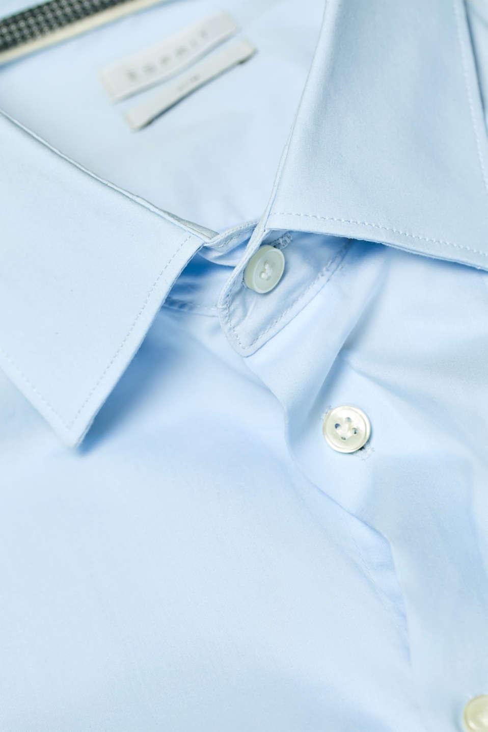 Shirts woven Slim fit, LIGHT BLUE, detail image number 4