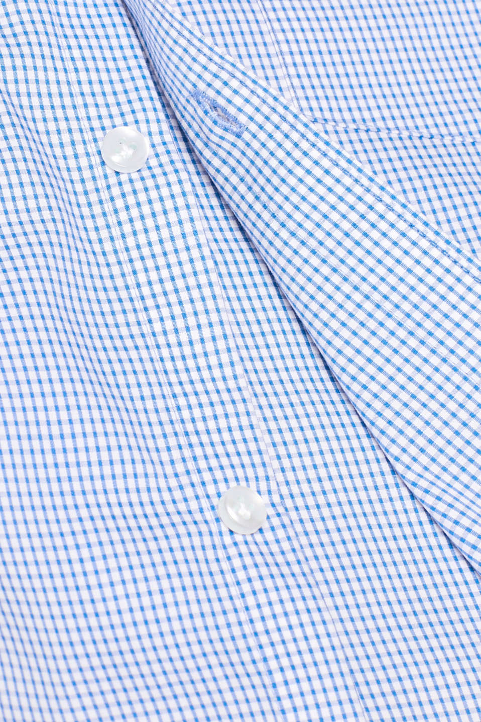 Shirts woven Slim fit, LIGHT BLUE, detail image number 4