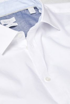 Textured shirt in 100% cotton