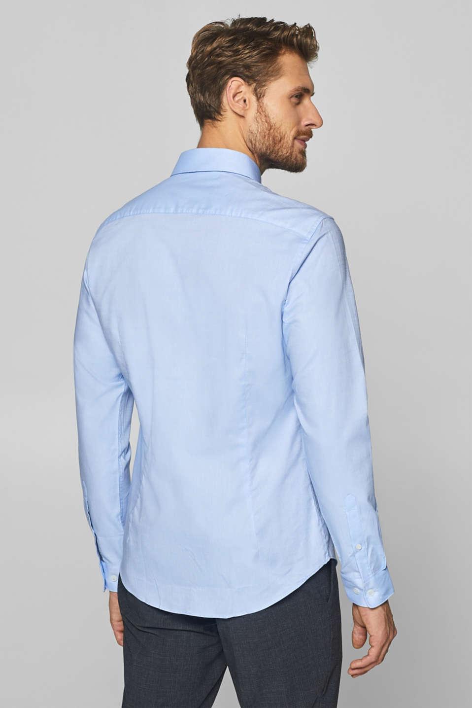Shirts woven Slim fit, LIGHT BLUE, detail image number 3