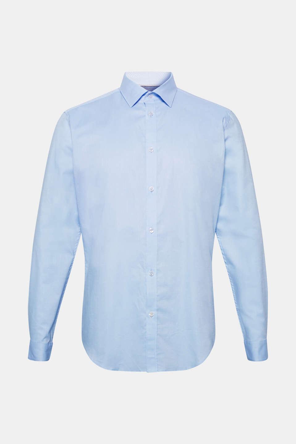 Shirts woven Slim fit, LIGHT BLUE, detail image number 8