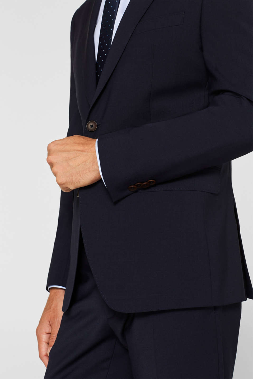 Blazers suit, NAVY, detail image number 2