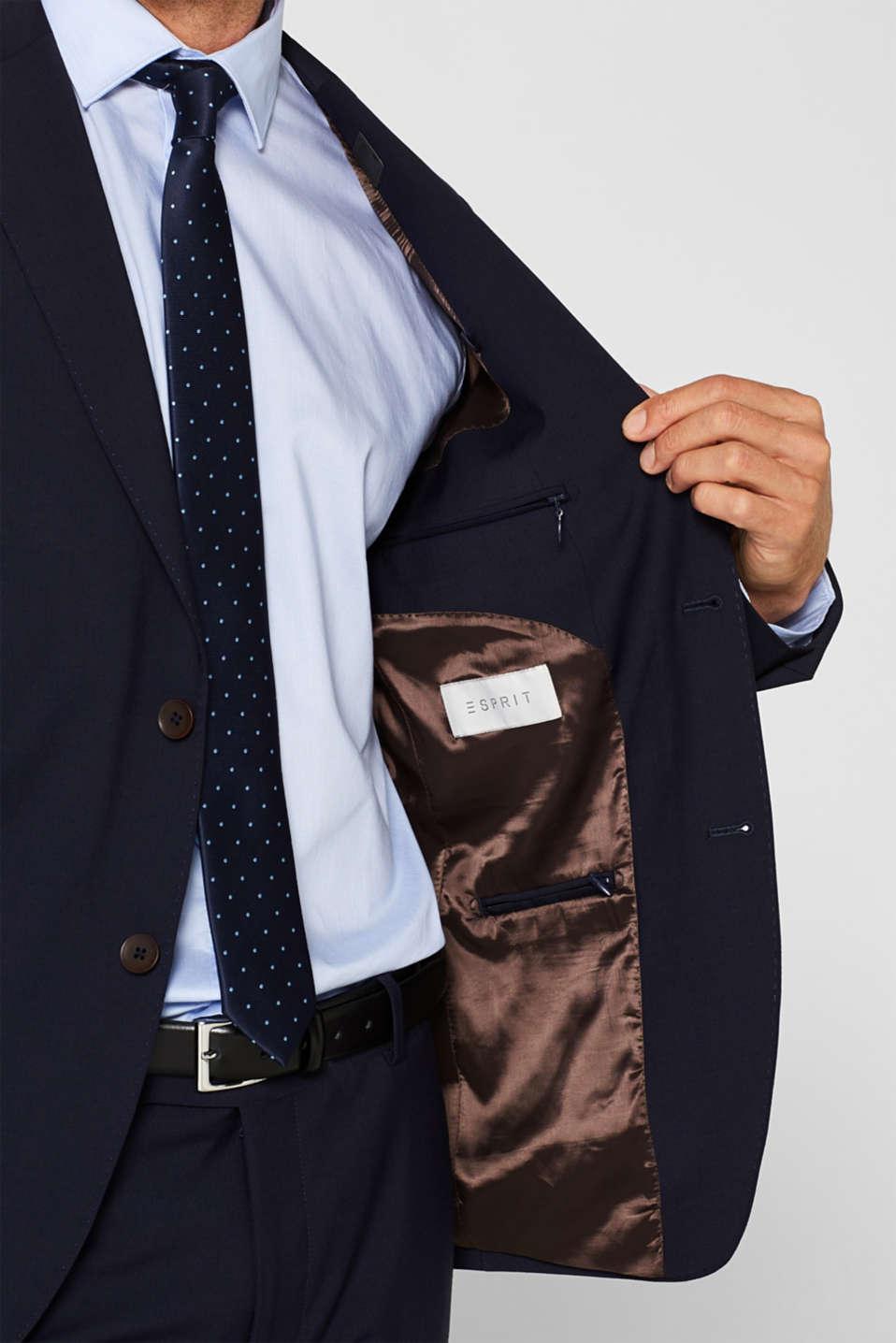 Blazers suit, NAVY, detail image number 6