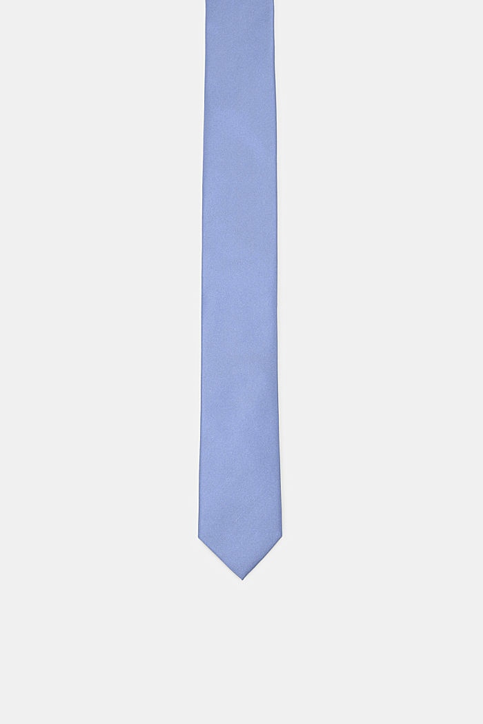 Tie in 100% silk, LIGHT BLUE, detail image number 0