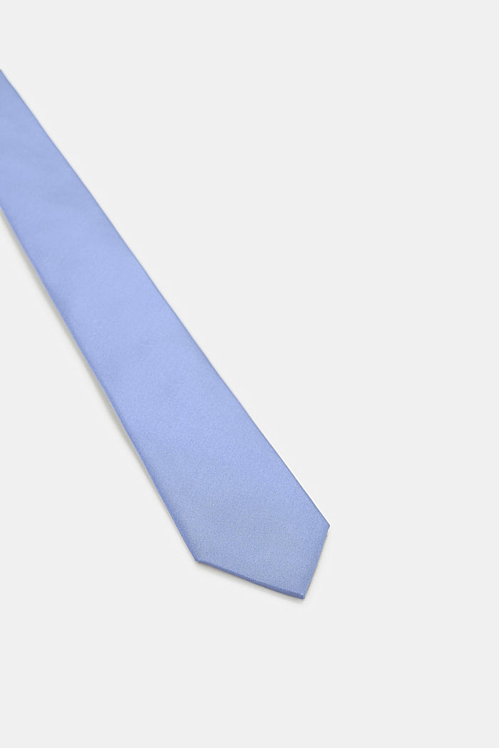 Tie in 100% silk, LIGHT BLUE, detail image number 1
