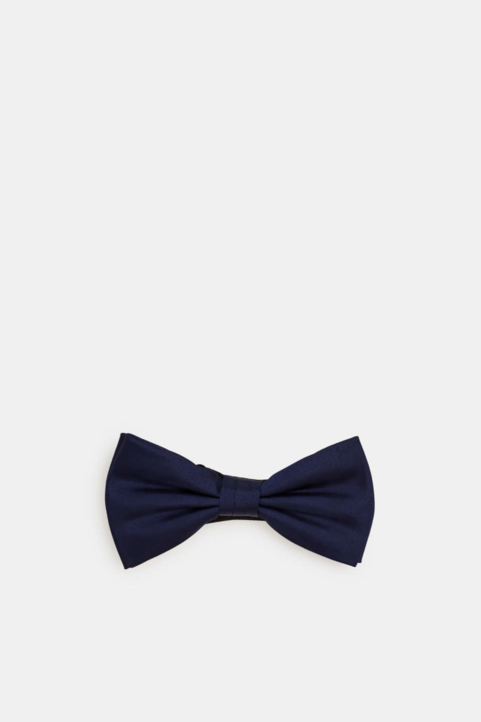 Bow tie made of 100% silk, NAVY, detail image number 0