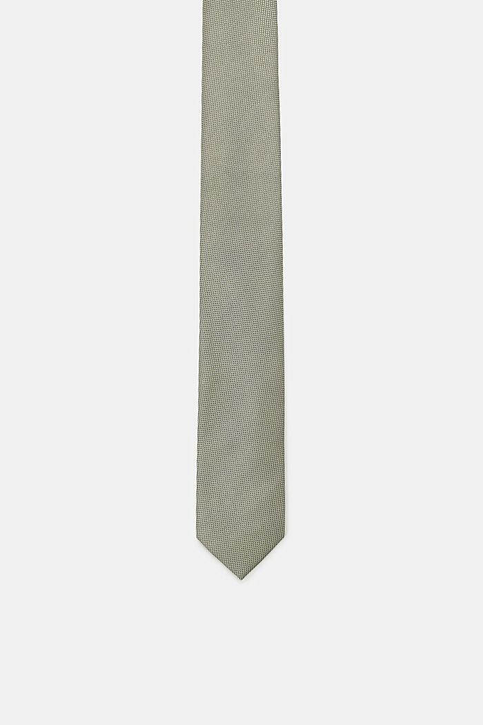 Cravate à texture bicolore