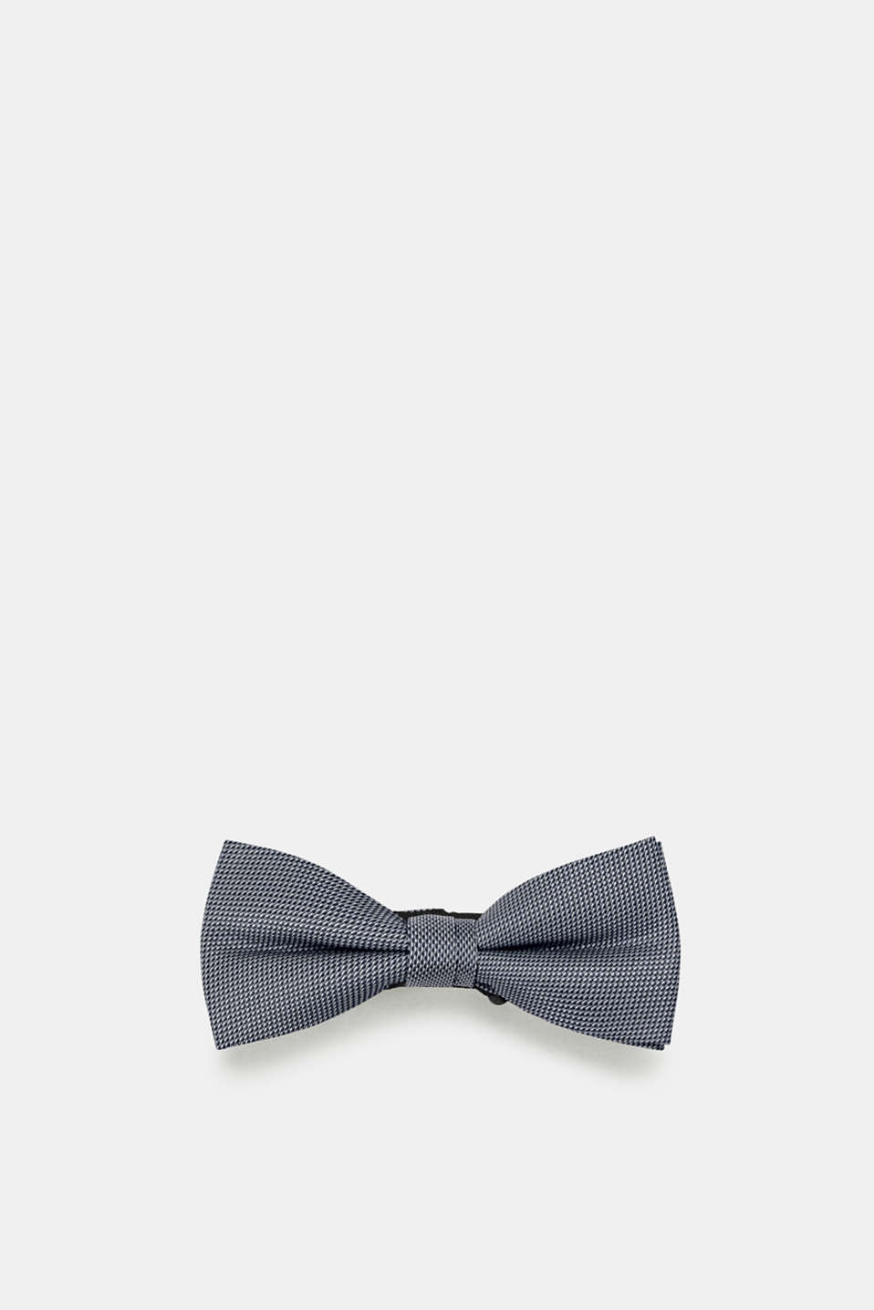 Bow tie with a bi-colour texture, NAVY, detail image number 0