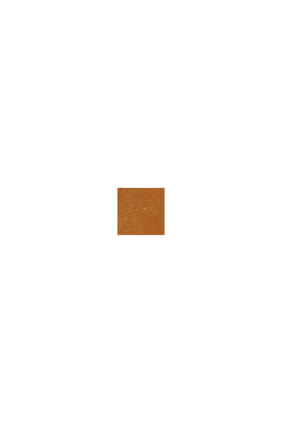 Gürtel mit matter Oberfläche, aus Leder, RUST BROWN, swatch